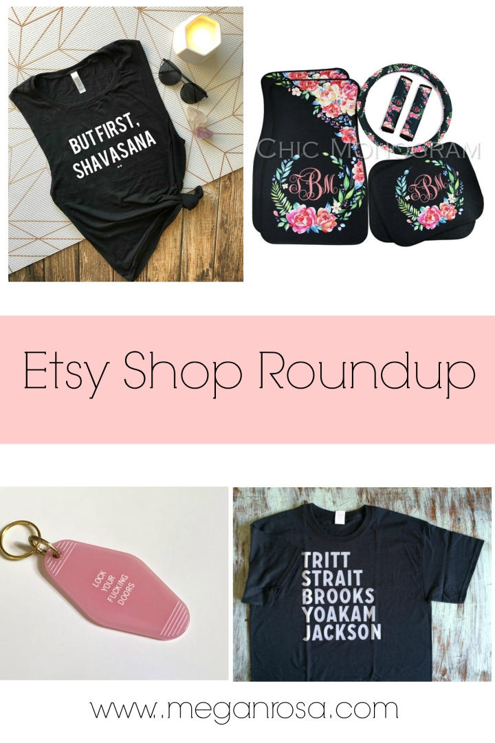 Etsy Shop Roundup